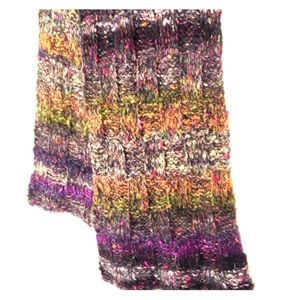 Mori Girl Scarf Hand Knit Forest Vibes Shawl Wrap